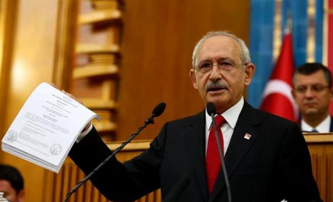 CHP grubu Kılıçdaroğlu için fon oluşturulacak