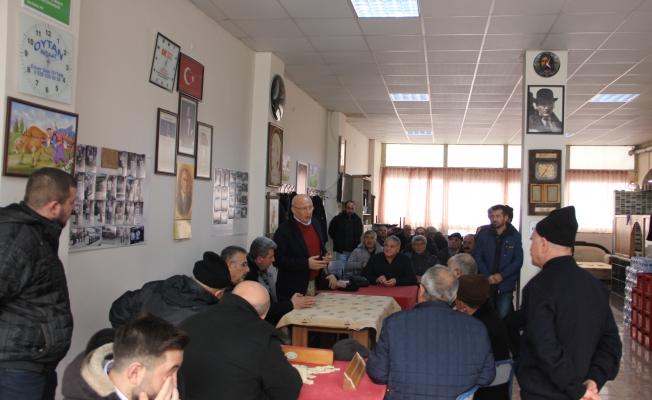 CHP'li Çakırözer sivil toplumun nabzını tutuyor