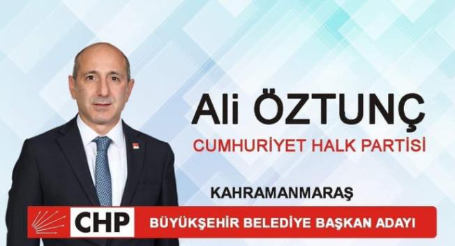 CHP'nin Kahramanmaraş Büyükşehir Belediye Başkan Adayı 'Atom Karınca' Ali Öztunç oldu!