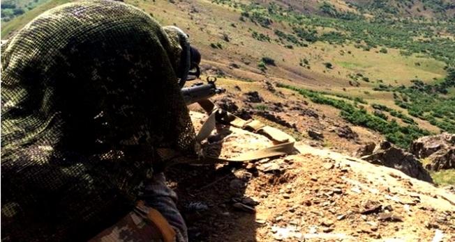 Diyarbakır'da çatışma: 2 terörist öldürüldü
