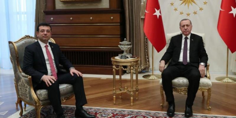 """Erdoğan ile görüşen İmamoğlu: """"Oyunuzu istiyorum"""" dedim"""