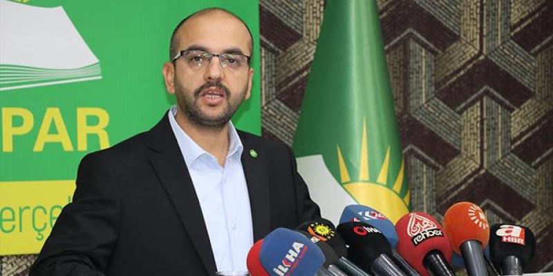 HÜDA PAR'dan 31 Mart yerel seçimlerine katılmama kararı