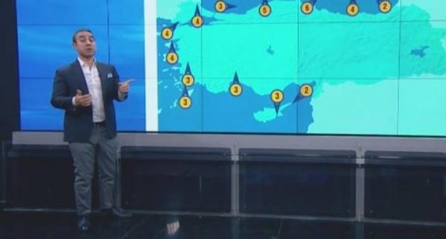 Meteoroloji uyardı: Bugün ve yarına dikkat