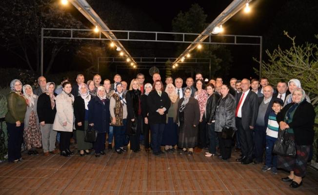 Sultanhisarlı Muhtarlar Başkan Çerçioğlu'yla Birlikte