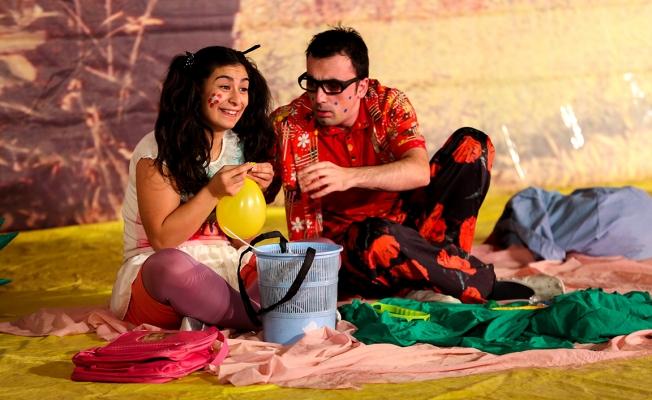 Maltepe'de yeni yılın ilk çocuk oyunu sahnelendi