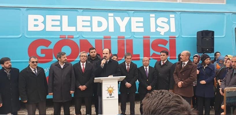 AKP mitinginde 'yuh' sesleri