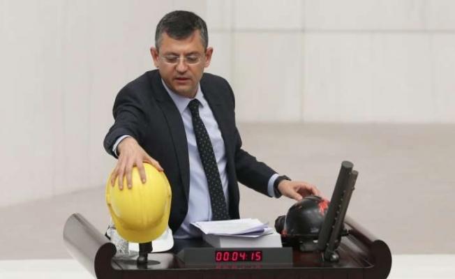 CHP'li Özel, Soma raporunu anımsattı
