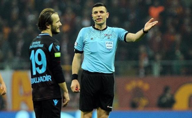 MHK, Galatasaray-Trabzonspor maçının hakemi Ümit Öztürk için kararını verdi!