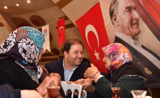 Başkan Ali Kılıç şehit ve gazi yakınlarıyla buluştu
