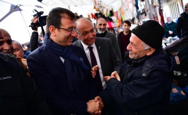 """İmamoğlu'ndan """"HDP'yi dışlamayın"""" diyen vatandaşa: Ne dışlaması; hemşeriyiz, dostuz, komşuyuz"""
