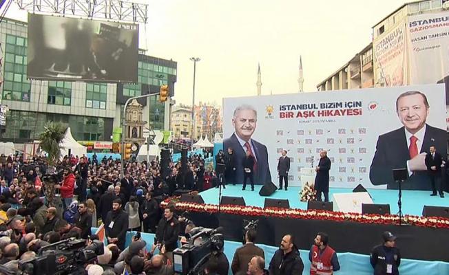 Katliam görüntüleri izleten Erdoğan'a sert tepki