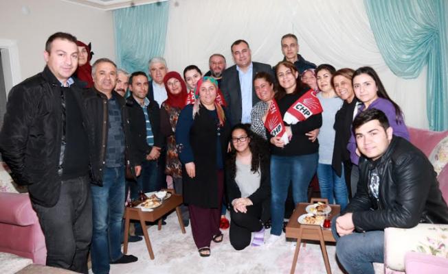 TAŞDELEN'DEN ALPER ÇİFTİNE ZİYARET