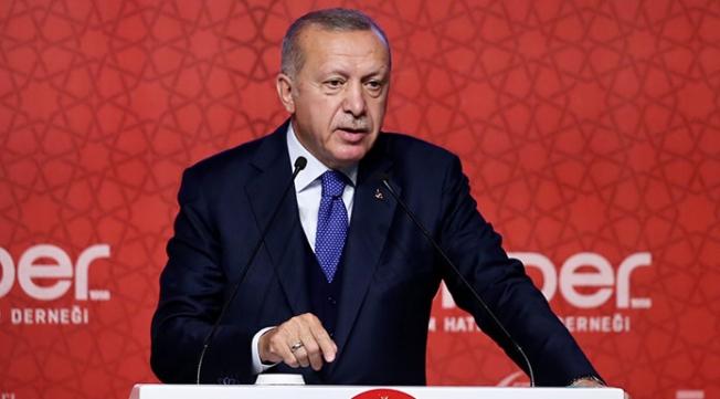 Erdoğan: 'Ekonomimizi çökmüş gibi gösteriyorlar'