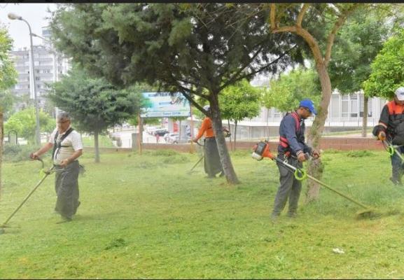 Çukurova'nın parkları pırıl pırıl