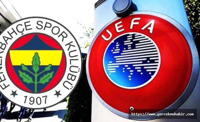Fenerbahçe'den UEFA'nın kararına ilişkin açıklama!