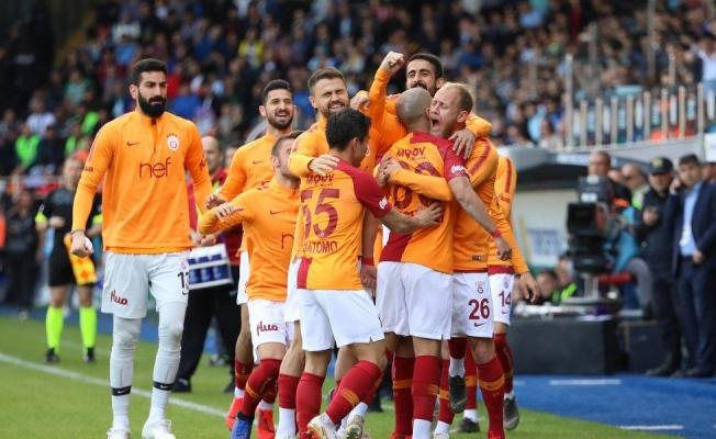 Galatasaray'dan kritik galibiyet!