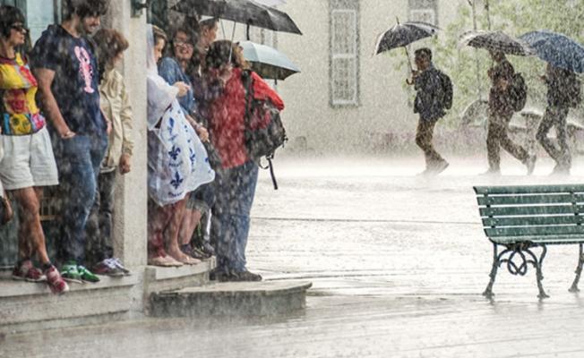 Kuvvetli sağanak yağış geliyor!