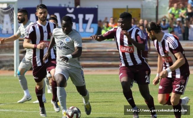 Süper Lig yolunda Hatayspor-Adana Demirspor maçı nefes kesti