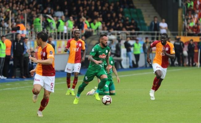 Rizespor - Galatasaray maçının yenilenmesiyle ilgili FLAŞ başvuru!