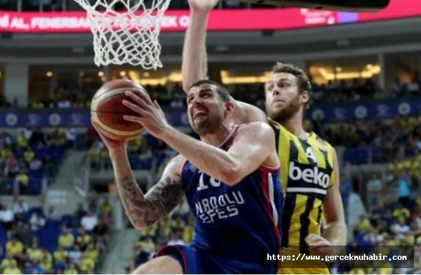 Basketbol Süper Ligi'nde şampiyon son maça kaldı