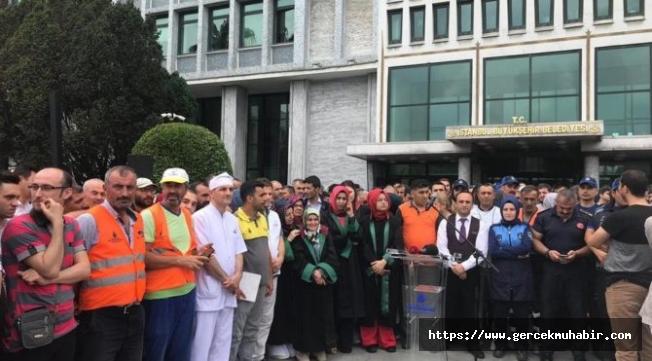 Böylesi görülmedi; İBB personeli aday karşıtı eylem düzenledi