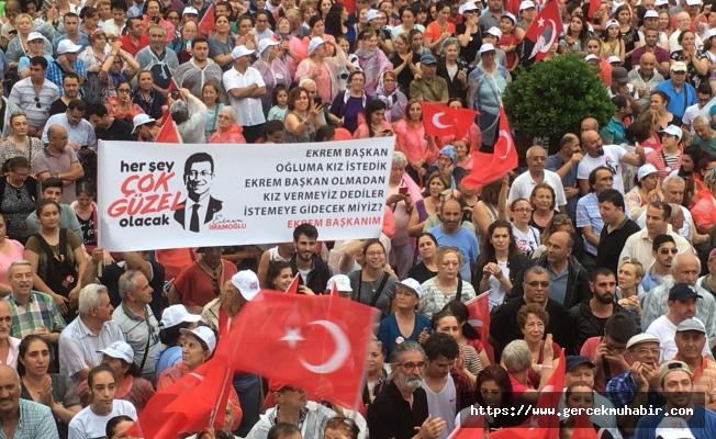 """Ekrem İmamoğlu: """"İstanbul'un bir belediye başkanı var, o da benim"""""""