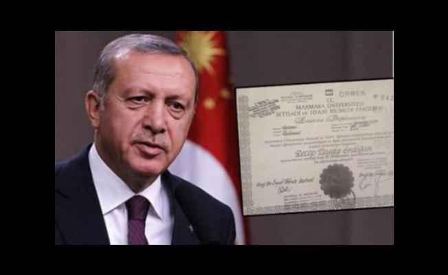 Erdoğan'ın diplomasını onaylayan notere uyarı!