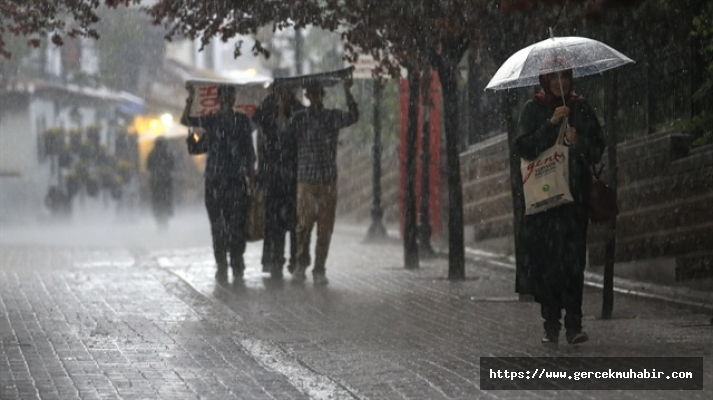 Meteoroloji'den hava durumu uyarısı: Birçok ilde yağış bekleniyor