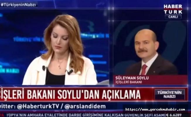 Nagehan Alçı ve Süleyman Soylu canlı yayında tartıştı