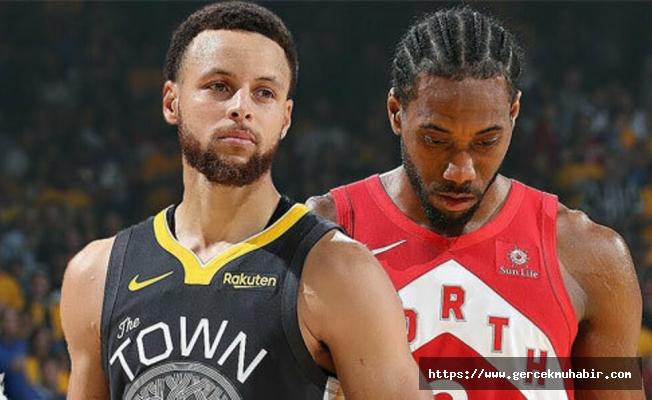 NBA final serisinde Toronto Raptors fırsat tepti!