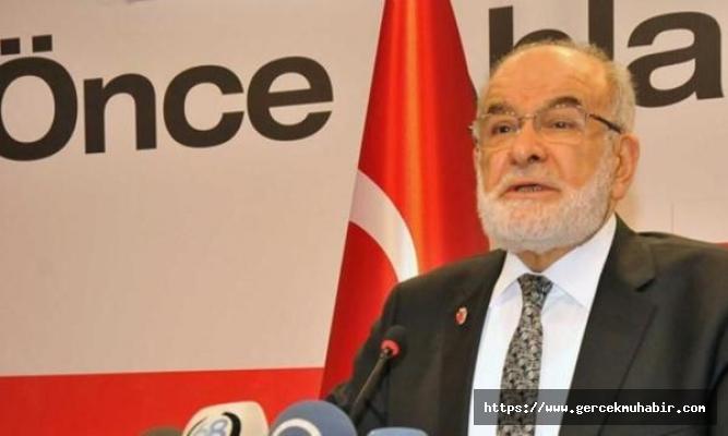 Saadet Partisi lideri Temel Karamollaoğlu'nun pasaportu iptal edildi