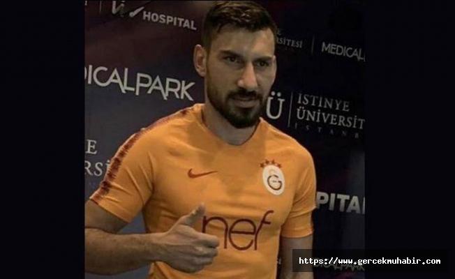 Şener Özbayraklı ilk kez Galatasaray forması ile görüntülendi