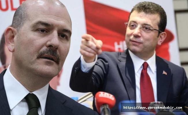 Süleyman Soylu, İstanbul'un Ekrem İmamoğlu'nu seçmesini yorumladı