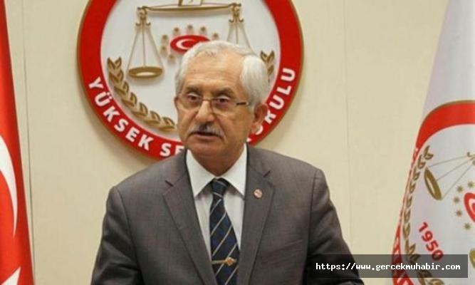 YSK Başkanı Sadi Güven, oy oranlarını açıkladı!