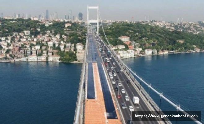 FSM Köprüsü'nün birinci etabı trafiğe açıldı