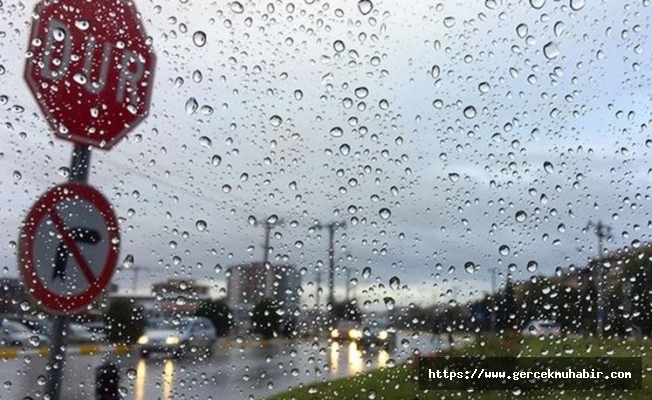 Meteoroloji'den bazı illere sağanak uyarısı