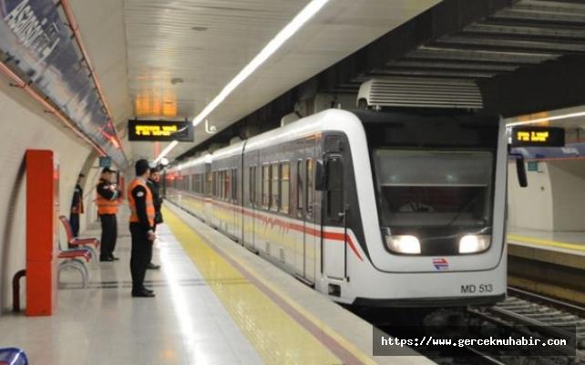 Prof. Kadıoğlu metroda ölçüm yaptı: İstasyonlar 3 kat daha kirli, maske ile binin!