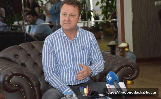 """Serdar Aksoy: """"Menemen'de derebeylik ve baronluk devri bitmiştir"""""""