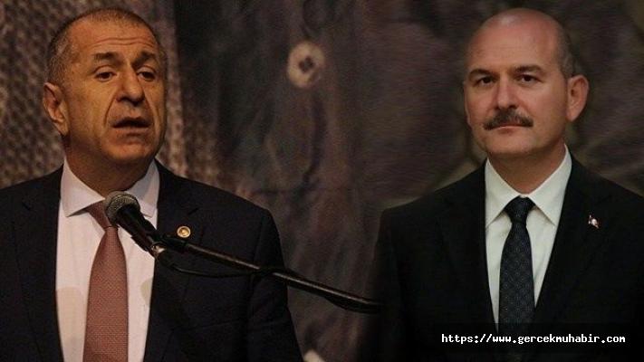 Ümit Özdağ'dan Süleyman Soylu'ya: İstanbul ve Ankara'da peşime taktığın polisleri çek