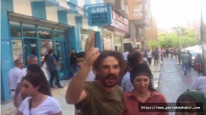 Diyarbakır'da belediyeye gelen HDP'lilere polis müdahalesi