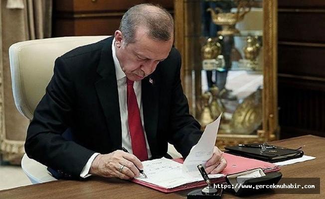 Erdoğan'dan kritik atamalar ve görevden almalar