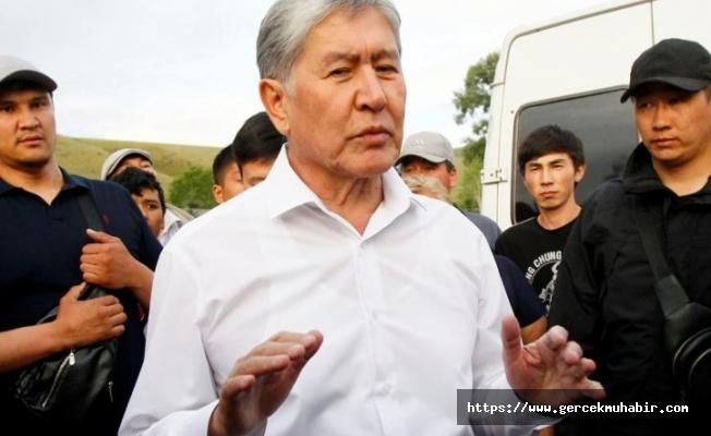 Eski Kırgızistan lideri Atambayev gözaltına alındı