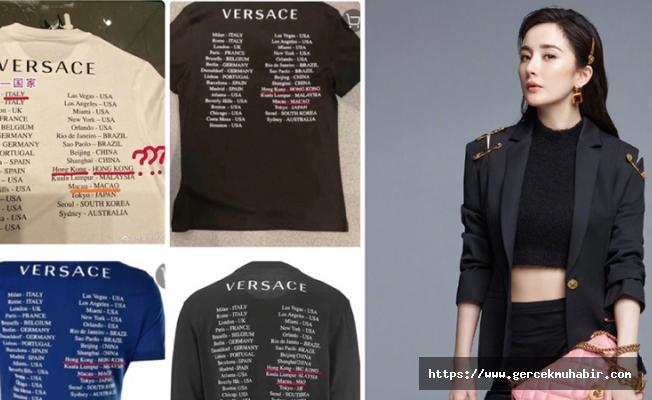 Ünlü İtalyan stilist Versace Çin'den özür diledi