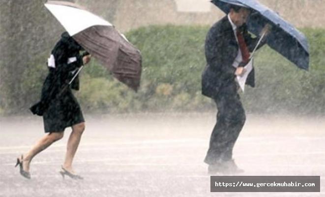 Meteoroloji'den fırtına ve sağanak uyarısı!