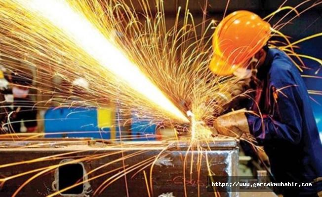 TÜİK: Sanayi üretimi bir önceki yıla göre yüzde 1.2 azaldı
