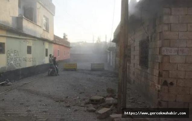 Ceylanpınar ilçe merkezine havan mermisi, Nusaybin'e roket atıldı