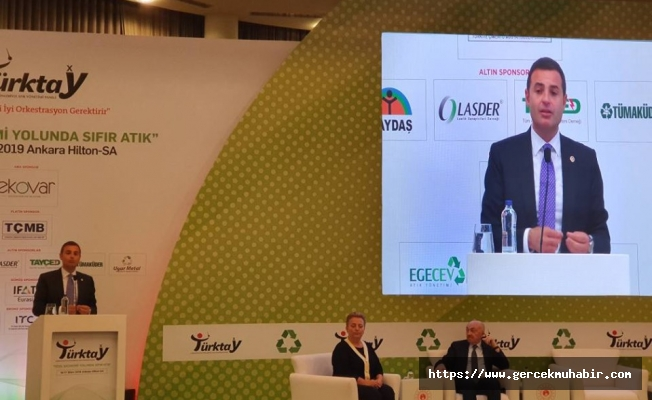 """Ahmet Akın, 'atık sektörünün kalbi' TÜRKTAY'da konuştu: """"AB ülkeleri ile kıyasladığımızda en müsrif ülkeyiz!"""""""