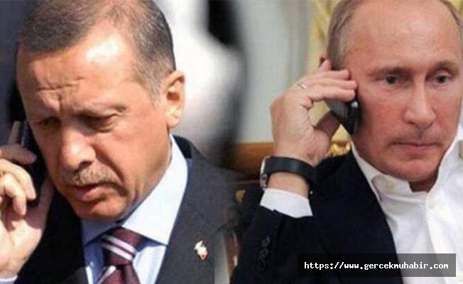 Erdoğan ile Putin arasında kritik Suriye görüşmesi