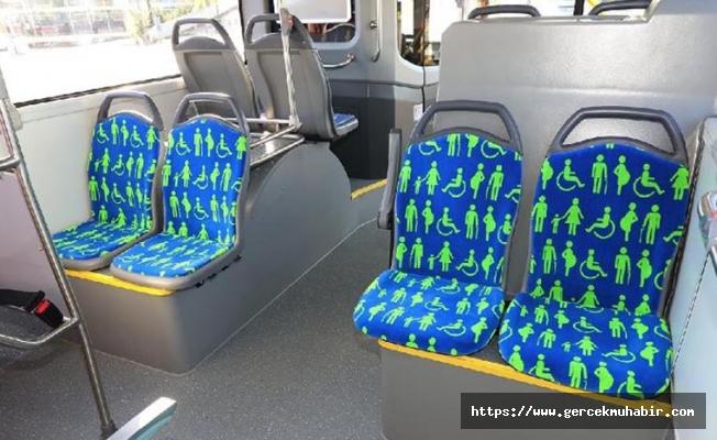 İmamoğlu talimat verdi; engelli, yaşlı, hamile ve çocuklu kadınlar için ayrılan koltukların kılıfı değişiyor