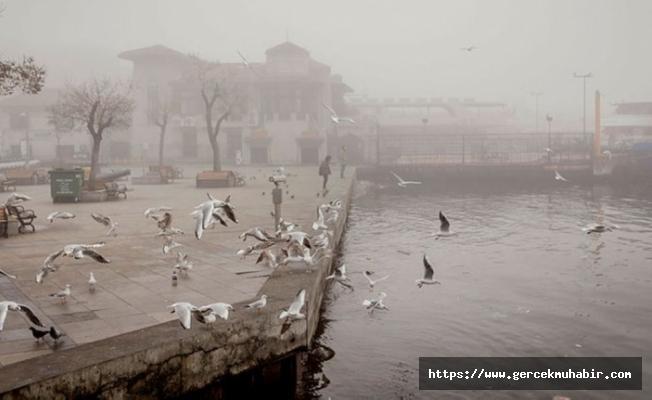 Sağanak ve sis uyarısı